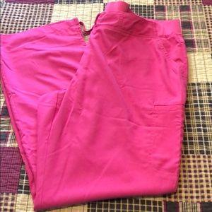 Pink Grey's Anatomy scrub pants